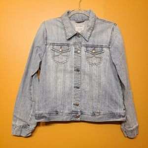 Old Navy | Retro Light Washed Denim Jacket (Large)